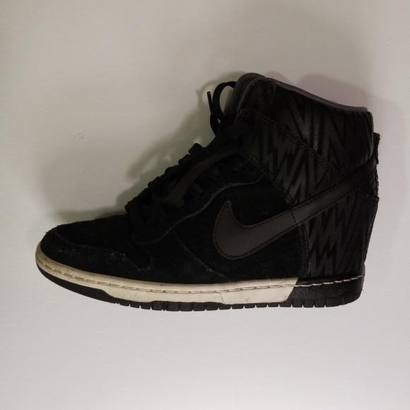 on sale aff30 6e2e8 Nike Dunk Sky Hi Wedge Sneakers. M 5c37f998c61777148281a7b7